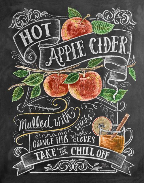 Горячий безалкогольный яблочный сидр - рецепт