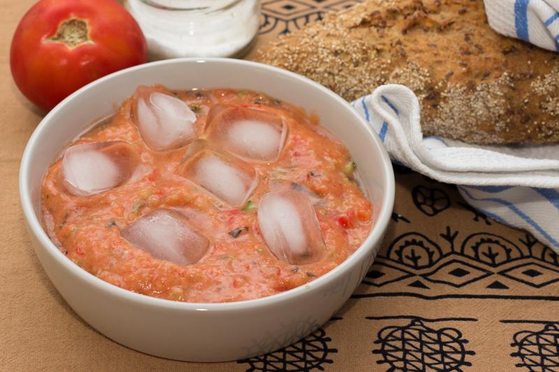 Гаспачо - холодный летний суп