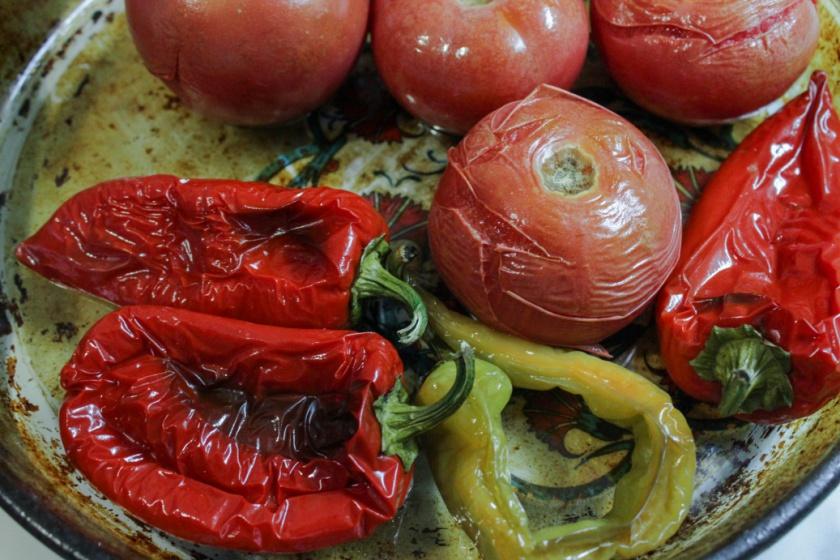 Запеченные овощи для супа-пюре
