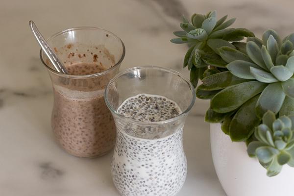 Пудинг из семян чиа на завтрак
